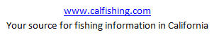Perris fishing reports for Lake perris fishing report